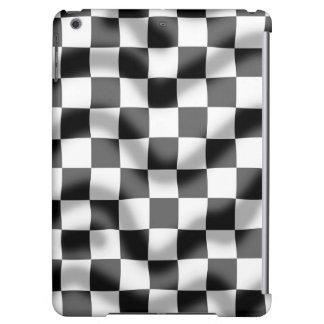 Chequered Flag Slight Ripple iPad Air Case