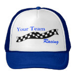 Chequered Flag Swoop Race Team Hat