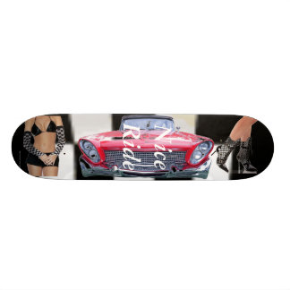 Chequered flag you win! skate deck
