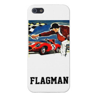 'Chequered Flagman' by Flagman Case For iPhone 5/5S