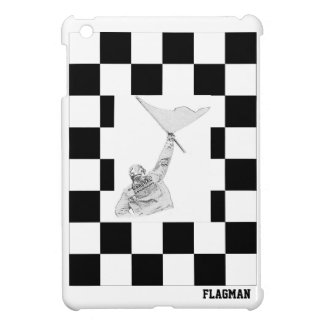 """Chequered Flagman"" by Flagman iPad Mini Case"