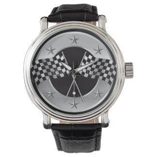 """""""Chequered Flags"""" by Flagman Watch"""