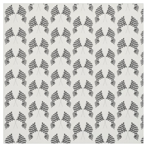 Chequered Flags Design Fabric