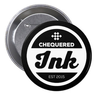 Chequered Ink Badge