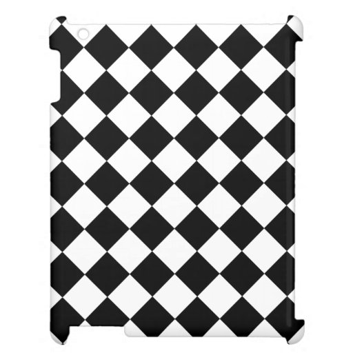 Chequered Pattern iPad Cover