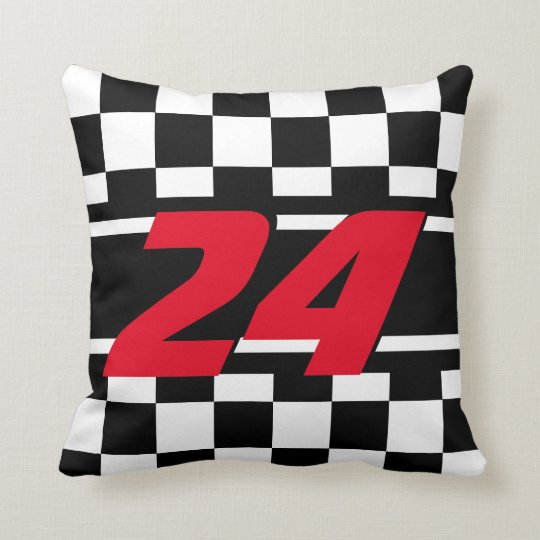 Chequered Race Car | DIY Colour | Number