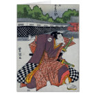 Chequered Samurai Card