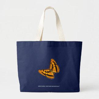 Chequered Skipper Canvas Bag