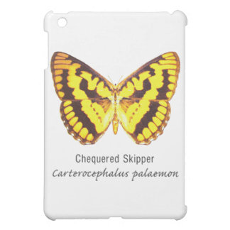Chequered Skipper Butterfly with Name iPad Mini Cases
