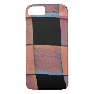 Chequered squares iPhone 7 case