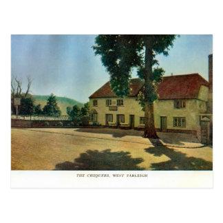 Chequers Inn, West Farleigh Postcard