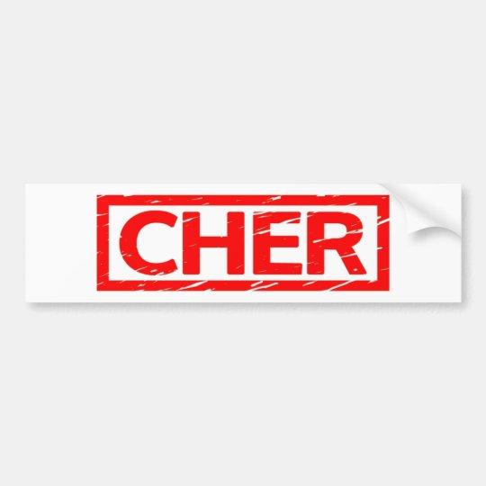 Cher Stamp Bumper Sticker