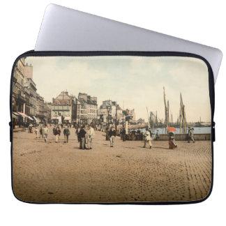 Cherbourg Habor, Basse-Normandie, France Laptop Sleeve