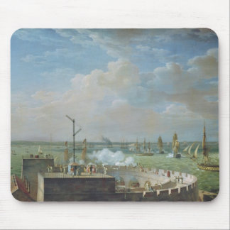 Cherbourg Harbour, 1822 Mouse Mat