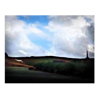 Cherhill White Horse - Wiltshire England Post Card