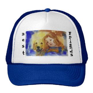 Cheri Blu Mesh Hats