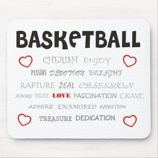 cherish-basketball. mousepad