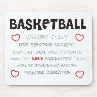 cherish-basketball mousepad