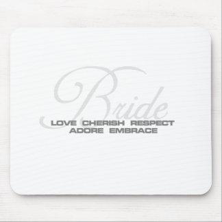 Cherish Bride Mouse Pad