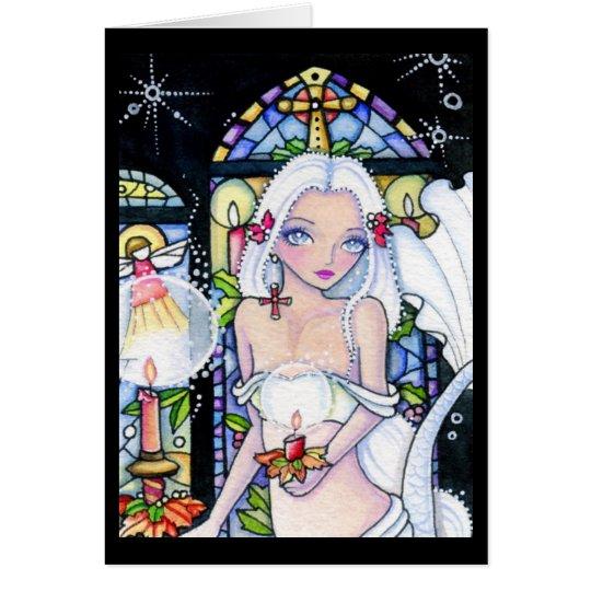 Cherish Christmas - blank card