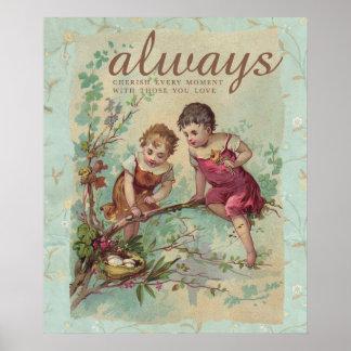 Cherish Every Moment Poster