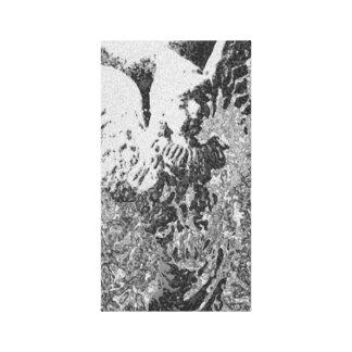 Cherish Guardian Angel Stretched Canvas Prints