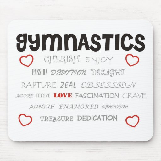 Cherish Gymnastics Mouse Pad