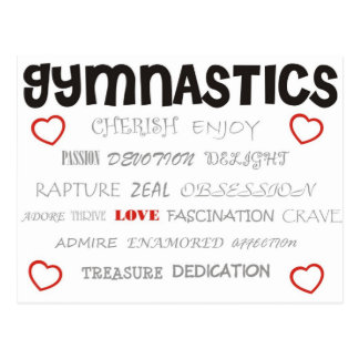 Cherish Gymnastics Postcard