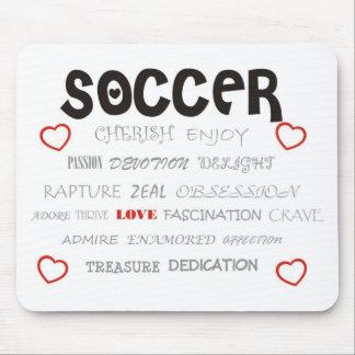 Cherish Soccer Mouse Pad