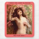 CHERISH THE CHERRY BLOSSOMS... MOUSEPADS