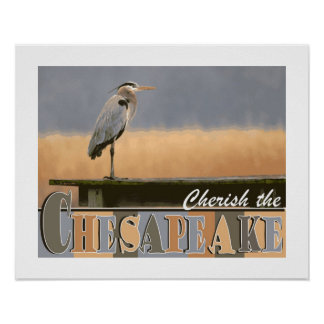 Cherish the Chesapeake Poster