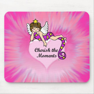 Cherish The Moments Mouse Pads