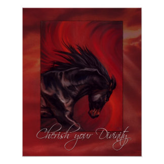 Cherish your Divinity Poster