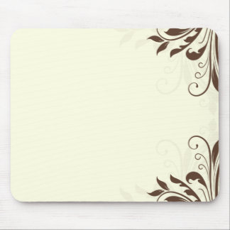 Cherishable Brown floral special gift Mouse Pad