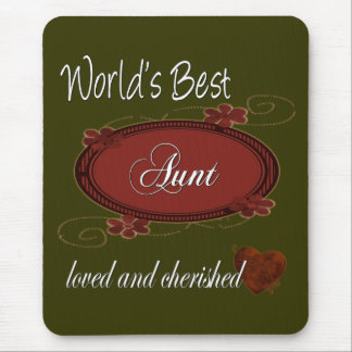 Cherished Aunt Mouse Mat
