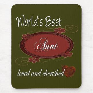 Cherished Aunt Mouse Pad