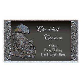"Cherished Baby 2"" Professional Pack Of Standard Business Cards"