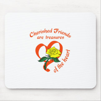 CHERISHED FRIENDS MOUSE PAD