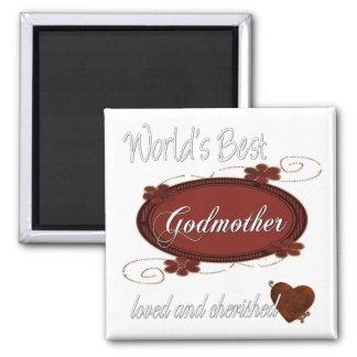 Cherished Godmother Fridge Magnet