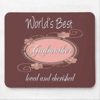 Cherished Godmother Mouse Mat