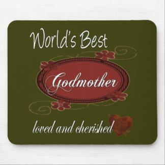 Cherished Godmother Mouse Pad