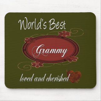 Cherished Grammy Mouse Mat