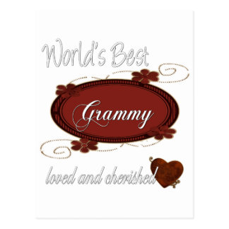 Cherished Grammy Postcard