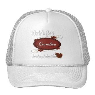 Cherished Grandma Trucker Hat