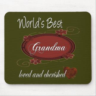 Cherished Grandma Mouse Mat