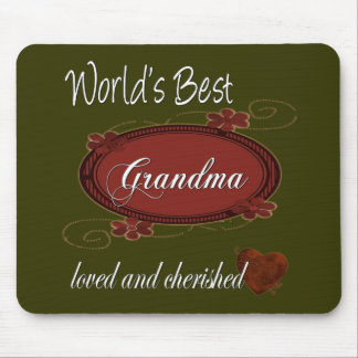 Cherished Grandma Mouse Pad
