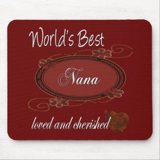 Cherished Nana Mouse Pad