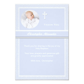 Cherished Personalized Photo Thank You Card 9 Cm X 13 Cm Invitation Card