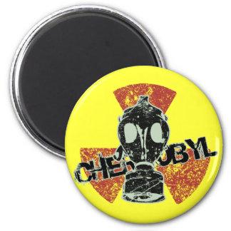 CHERNOBYL 6 CM ROUND MAGNET