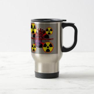 Chernobyl Heart Stainless Steel Travel Mug
